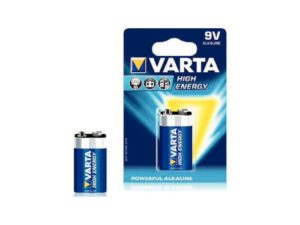 Batterien Varta High Energy Block 9 V 6LR61